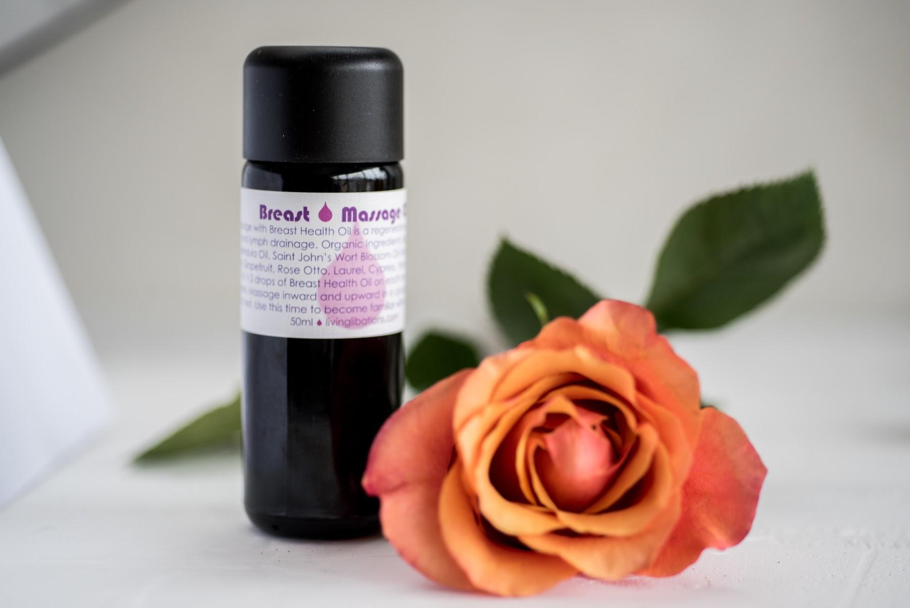 Living Libations Breast Massage Oil