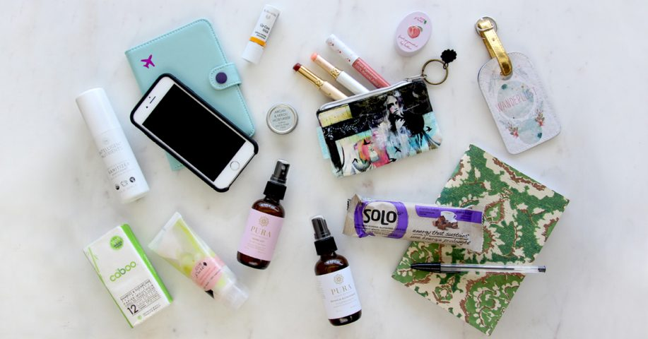 A Young Traveller's Carry-On Essentials