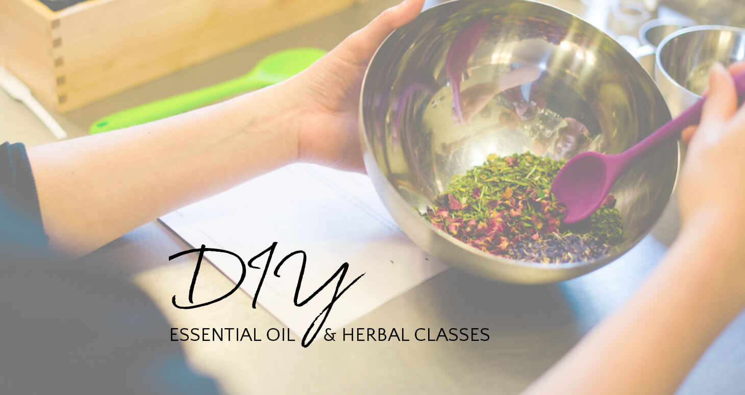 DIY Essential Oils & Herbal Classes