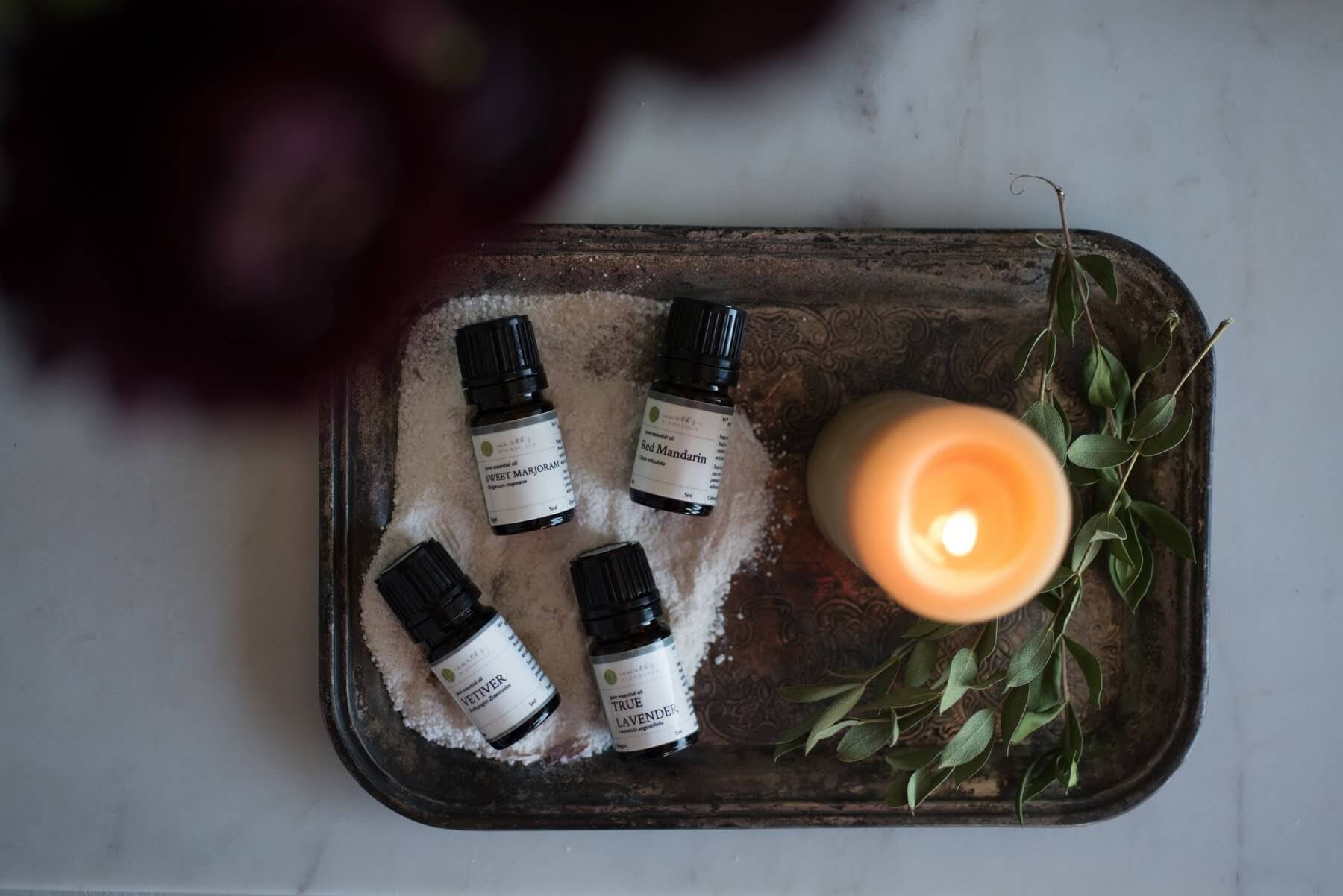 Calming Essential Oils for the Bath