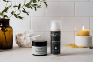 Helena Lane Jojoba and Calendula Cleanser and Graydon Aloe Milk Cleanser