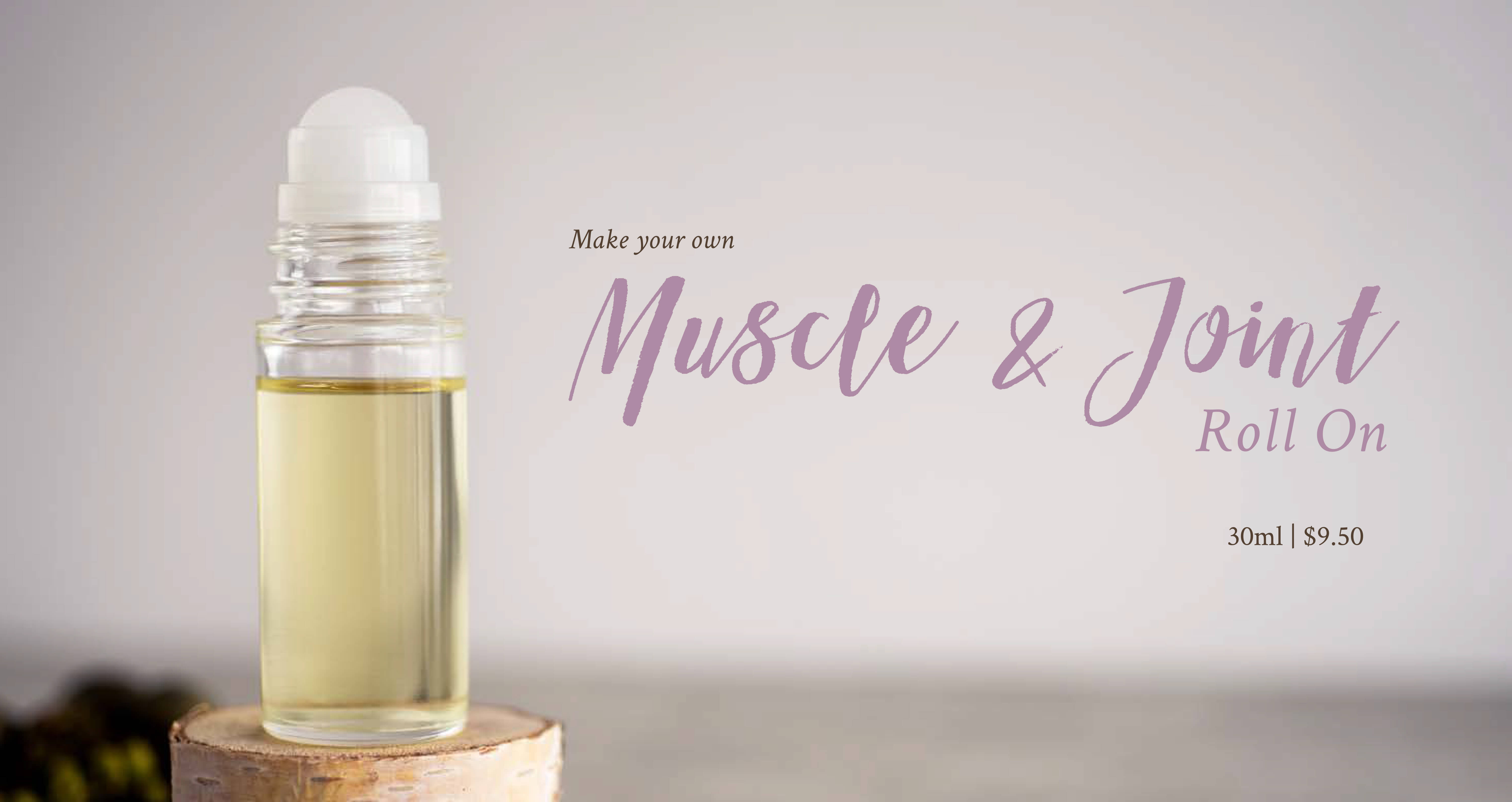 DIY Muscle & Joint Roll-On