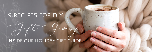 Recipes for DIY Gift Giving | Kolya Naturals, Canada