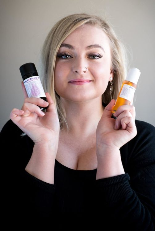 Living Libations Breast Massage Oil, Petal Passion Serum   Kolya Naturals, Canada